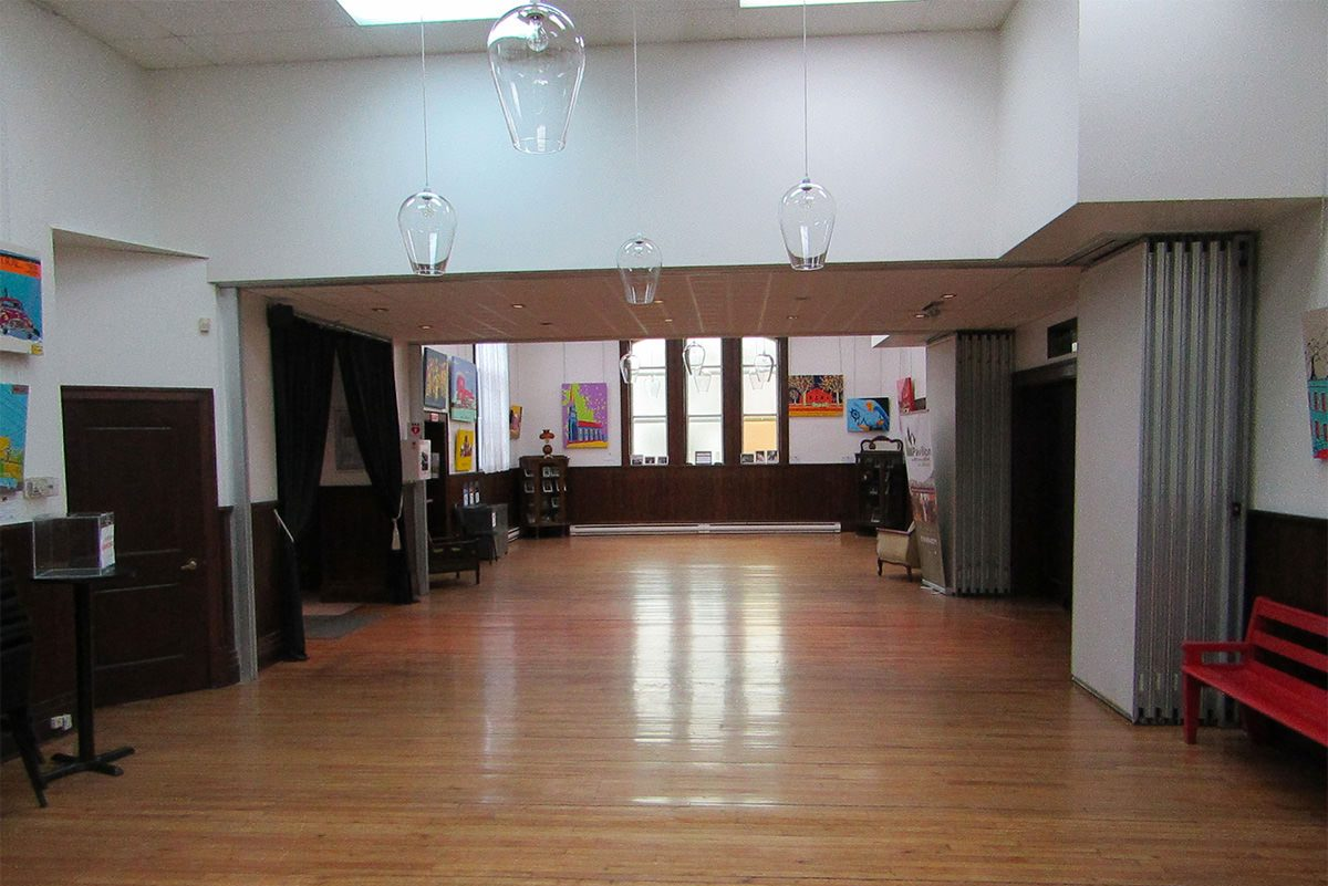 Great Hall - Room rental - Pavillon des arts et de la culture de Coaticook